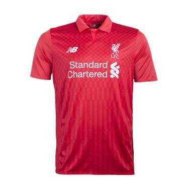 pretty nice d1036 6de12 New Balance Liverpool Mens Supporter Jersey