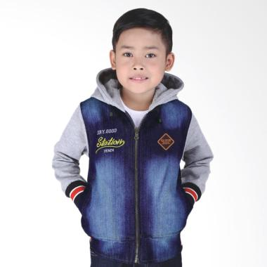 Catenzo Junior Dennis CRC 004 Jaket Denim Anak