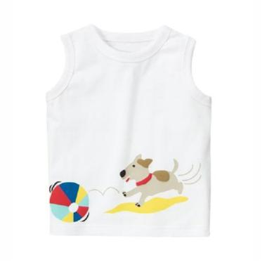 Gymboree Tank Top Ball Puppy Atasan Anak Laki-laki