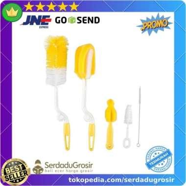 harga Asli MOONBABY Set Peralatan Pembersih Dot Bayi 5 PCS - ZX144 Murah Limited Blibli.com