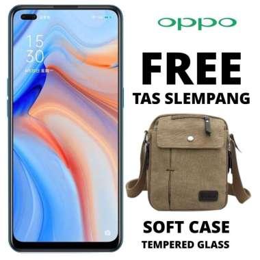 harga Oppo Reno 4 8-128 GB Free Tas Slempang  Hitam Blibli.com