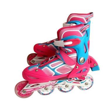 Cougar W-ABEC7 MZS835LSG ADJ. Inline Skate - Pink Purple [38-41]