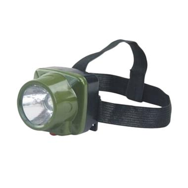 Mine Military Waterproof Headlamp LED Cree - Army Green