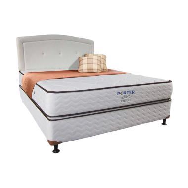 Porter Kasur Bonnel Spring Bed Valiant [Fullset]