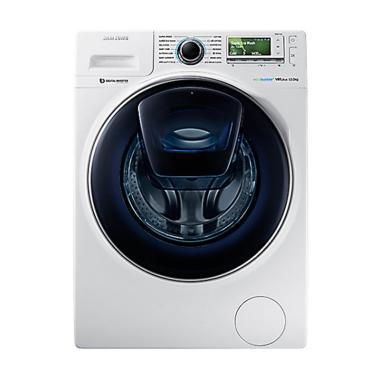 Samsung WW12K8412OW Mesin Cuci - White [Front Loading/12.5 Kg]