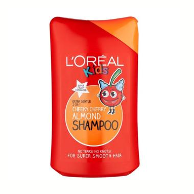L'oreal Kids 2 in 1 Cheeky Cherry Almond Shampoo [250 mL]