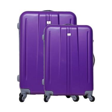 Polo Team SET 003 Tas Koper Hardcase - Purple [20 dan 24 Inch]
