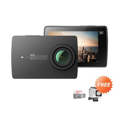 Xiaomi Yi 2 4K Action Cam - Black + ... emory Sandisk Ultra 32 GB