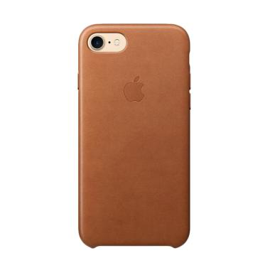 Apple Original Leather Casing for iPhone 8 / 7 - Saddle Brown
