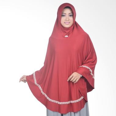 Atteena Hijab Aulia Kirana Jilbab Istant - Merah Hati