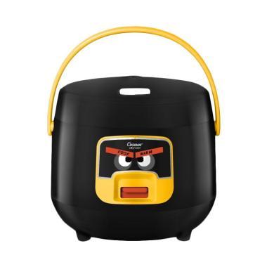 Cosmos CRJ6601 Rice Cooker - Black [Harmond Technology/ 0.8 L]