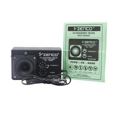 harga Zenco VX-8088 Alat Pengusir Tikus Ultrasonic - Hitam Blibli.com