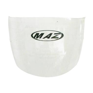 MAZ Visor Kaca Helm Motor for Helm MAZ Tanpa Topi - Clear