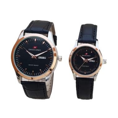 Swiss Army SA 27270404 AD Jam Tangan Couple - Rose Gold