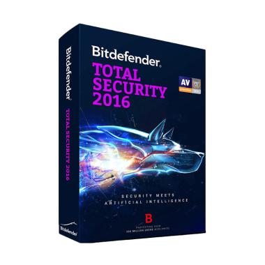Bitdefender Total Security 2016 Software [1 Year/ 1 PC]