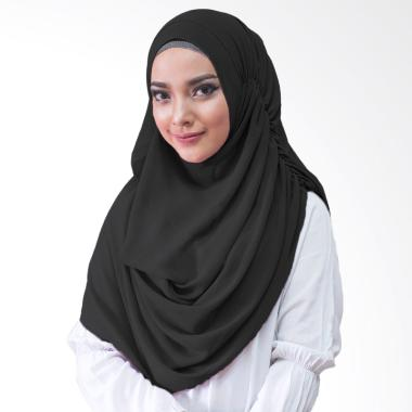 Milyarda Hijab Nurmala Kerudung Instan - Hitam