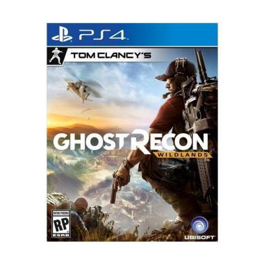 harga Sony PS4 Tom Clancy's Ghost Recon Wildlands DVD Game Blue Blibli.com