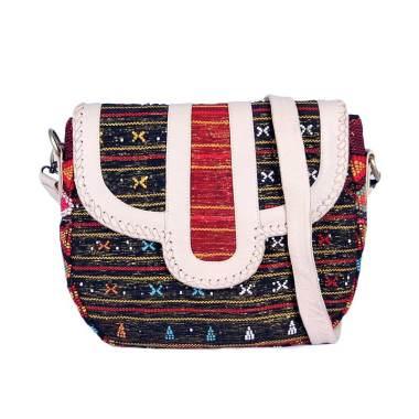 Daisy Amarissa Lovina Charm Leather Sling Bag