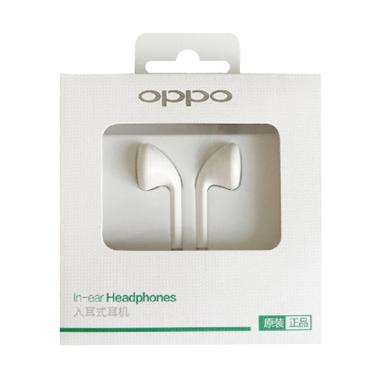 Oppo MH133 Headset for Oppo R9 - White