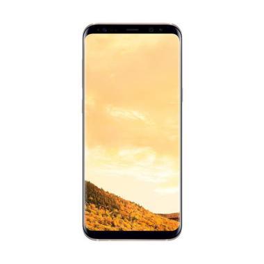 Samsung Galaxy S8 Plus Smartphone - Gold [64GB/ RAM 4GB]