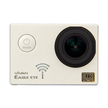 Vivan Eagle Eye 16M HD Waterproof Action Camera - Silver