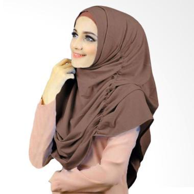 Kus group Hijab Narinda Kerudung syar'I - Coklat