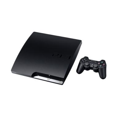 SONY PlayStation 3 Slim 120 GB Original Full Games PSN Game Console - Black