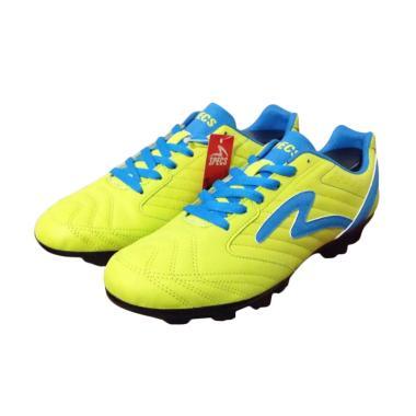 Specs Brave Sepatu Sepakbola 100586 - Solar Slime Rock Blue