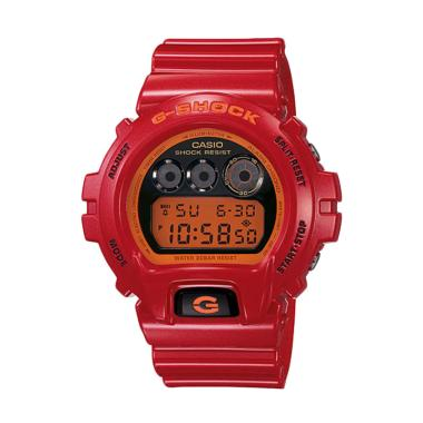 CASIO G-SHOCK DW-6900CB-4DR Limited Edition Jam Tangan Pria - Red