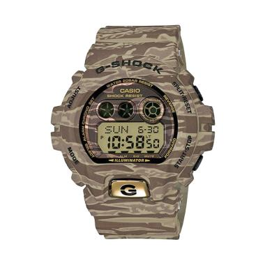 CASIO G-SHOCK GD-X6900TC-5DR Jam Tangan Pria - Tiger Camo Brown