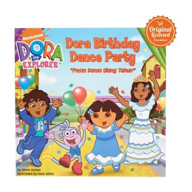 Dora the Explorer Dora Birthday Dance Party Komik Book