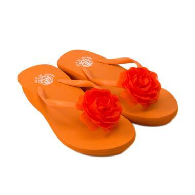 Megumi Gerbera Sandal Anak Perempuan - Orange