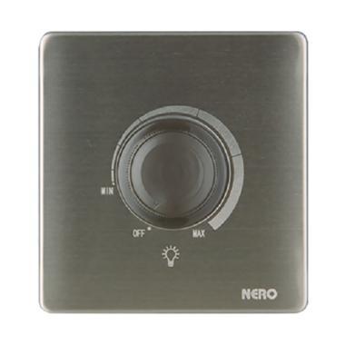 Nero V8L63 Saklar Listrik Stainless [1 Gang Light Dimmer]