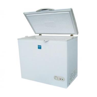 SHARP FRV-200 Chest Freezer - Abu Abu [195 L/Khusus Jabodetabek]