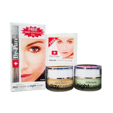 Dr Pure Original Paket Whitening Cream Plus Sabun