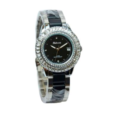 Tetonis T952 Jam Tangan Wanita - Silver Black