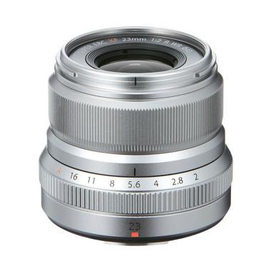 Fujifilm Fujinon XF 23mm f/2 R WR G ... SIA Lensa Kamera - Silver