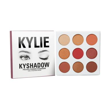 Kylie Cosmetics Kyshadow Burgundy Eyeshadow Palette