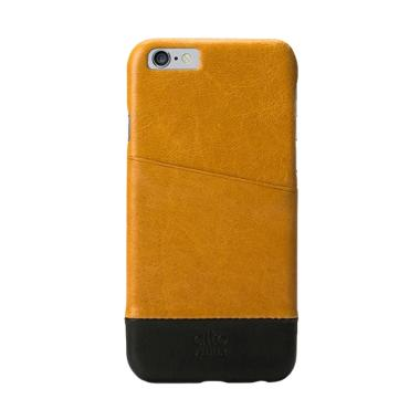 Alto Metro Leather Casing for iPhone 6 - Light Brown Black