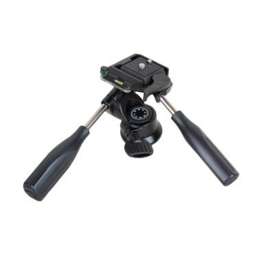 Kingjoy KH-6720 3-Way Pan Tlit Double Handled Head Tripod