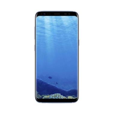 Samsung Galaxy S8 Dual Smartphone - Coral Blue [64 GB/4 GB]