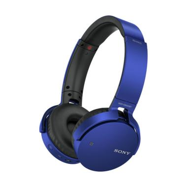 Sony MDR-XB650BT Extra Bass Bluetooth Headphone - Biru