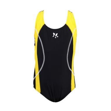 Lasona SW-H2453-L4 Baju Renang Anak Perempuan - Hitam Kuning