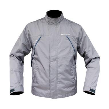 Respiro Air Intake R1 Jaket Motor Pria - Grey Navy