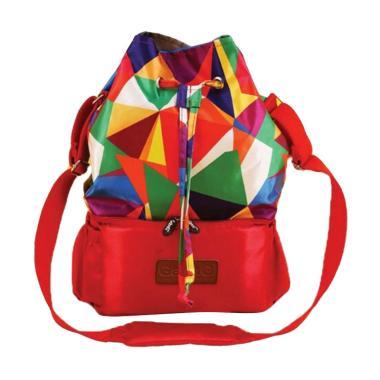 Gabag Cooler Bag Tas Penyimpan ASI dengan Ice Gel - Sierra Merah