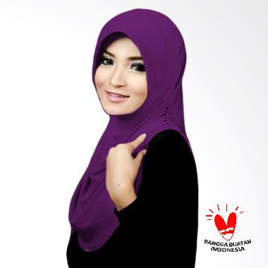 Milyarda Hijab Rumana Kerudung Instant - Ungu