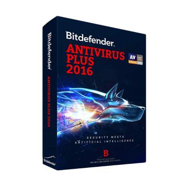 Bitdefender Antivirus Plus 2016 Software [1 Year/ 1PC]