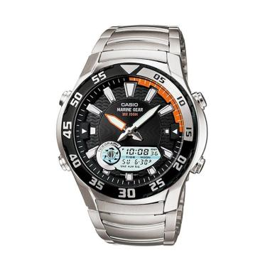 Casio AMW-710D-1AV Outgear Moon and Tidegraph Jam Tangan Pria