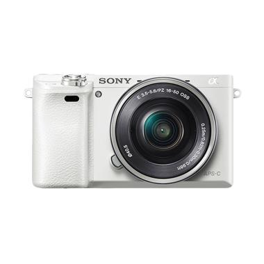 SONY Alpha A6000 White Kit 16-50mm  ... S + SONY E 35mm f/1.8 OSS