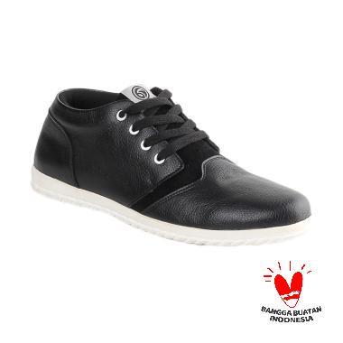 harga Blackkelly Howard LWX 650 Sepatu Casual Pria - Hitam Blibli.com